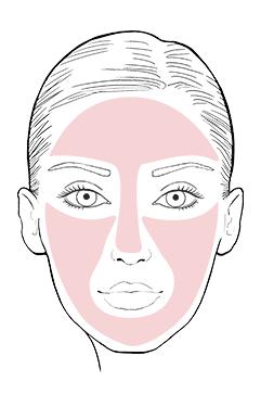 As a make-up base.