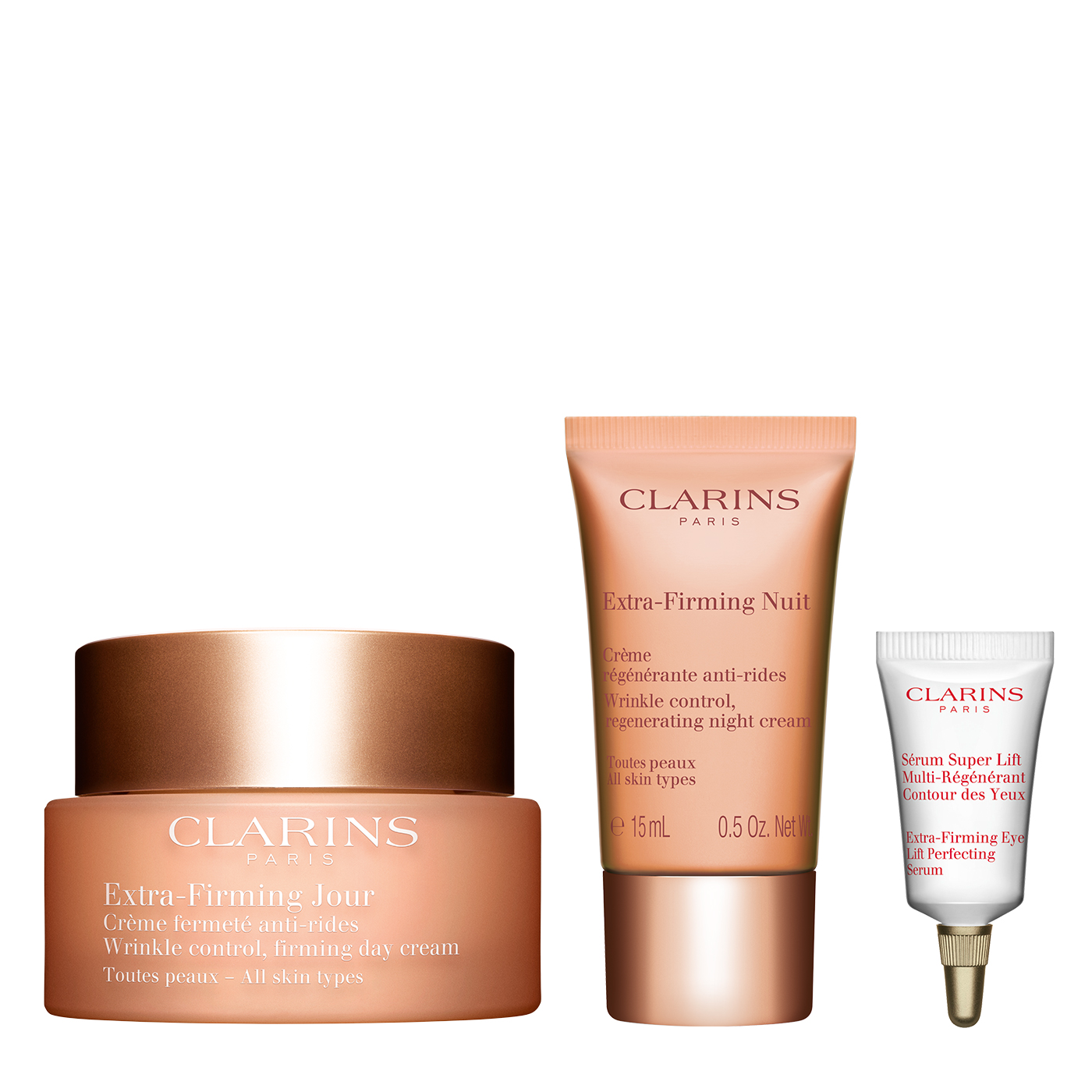 It's all about you. French beauty brand Clarins brings you the best plant-based skin care and beauty products in Malaysia. Unveil your inner beauty with our wide product lines, including facial creams, body care products and more! Get the best treatment for your face and body online, only at Clarin.