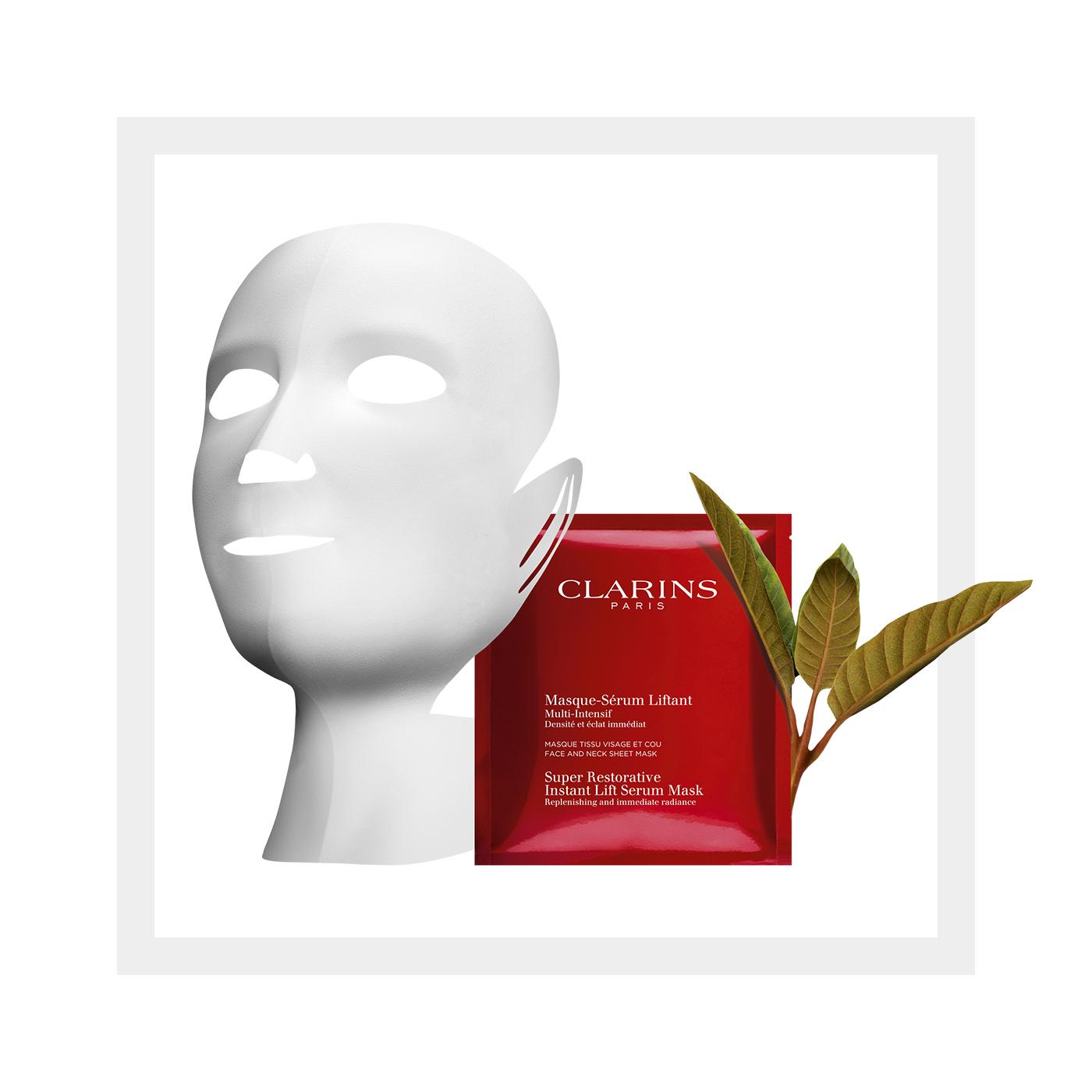 Super Restorative Instant Lift Serum Mask by Clarins #9