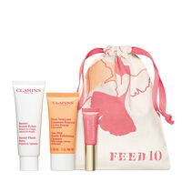 Clarins x FEED Collection