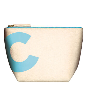 Blue Travel Pouch