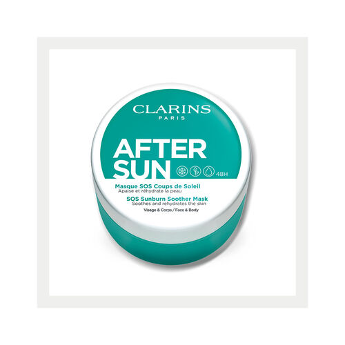 SOS Sunburn Soother Mask