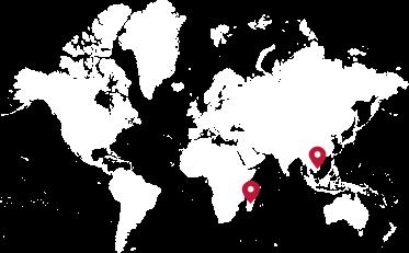 地图上标注的落地生根