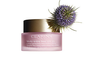 Multi-Active Day Cream with Teasel ingredient