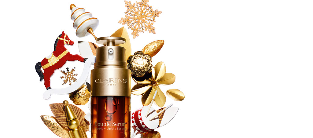 Double Serum. Two Power-Packed Serums in One: Holiday glow guaranteed!