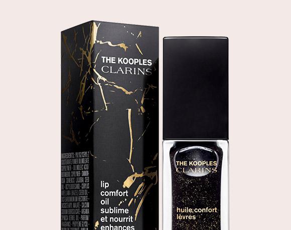 Dark Stone(摇滚黑)莹亮丰盈护唇油包装与产品