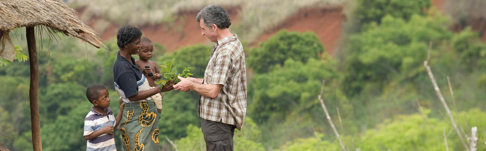Jean Pierre Nicolas在马达加斯加