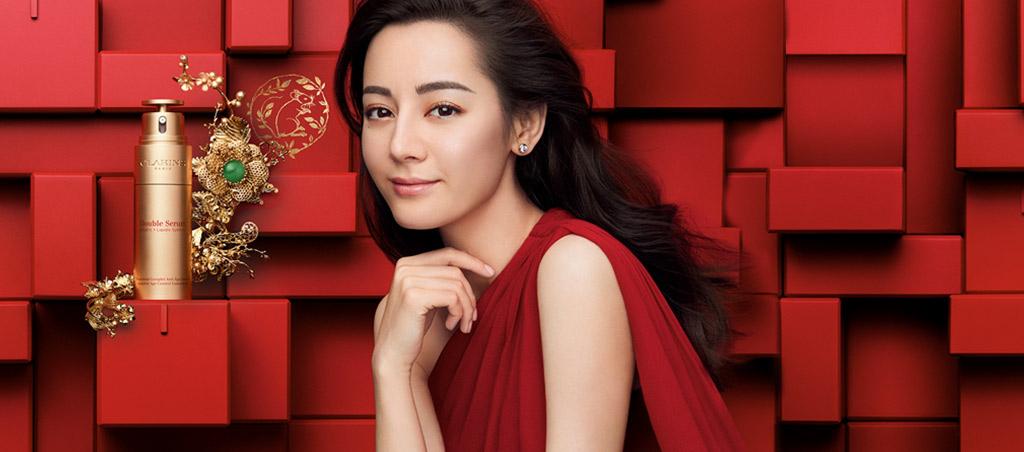 限量版金色双萃赋活修护精华露: 灿烂金色,欢庆春节。