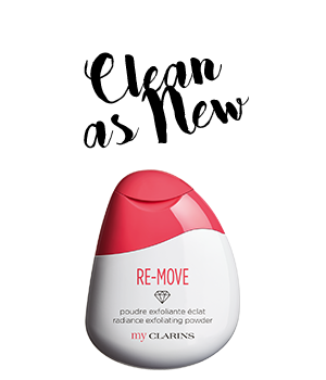 NEW RE-MOVE radiance exfoliating powder