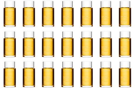 Bottles of Tonic Body Treatment Oil