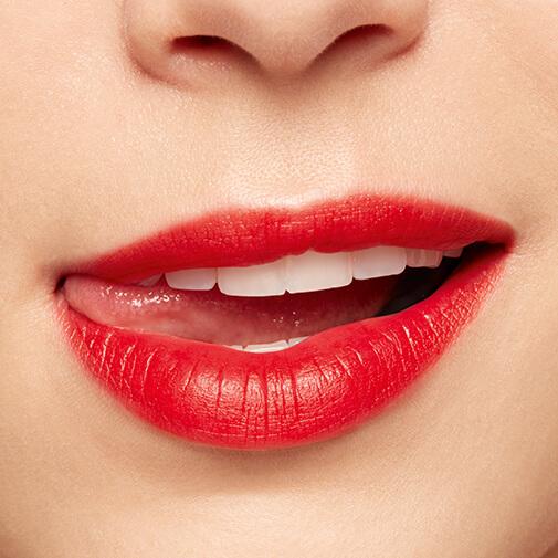 水漾唇釉的涂抹效果