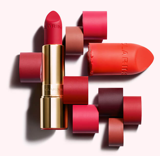 Joli Rouge Red Velvet Lipstick Matte Lipstick Clarins