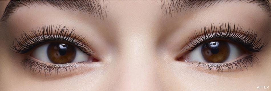 Wonder Perfect Mascara 4D after