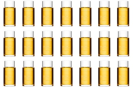 Bottles of Tonic Body Treatment Oil