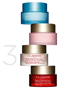 Clarins Day and Night Creams
