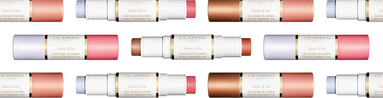 Glow All Out! Glow 2 Go illuminates skin with light-catching color!