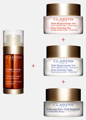 Double Serum and Extra-Firming creams