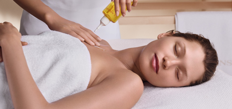 Presentation video for the Clarins Spa experience