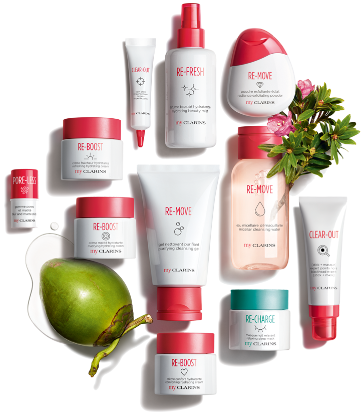 My Clarins Products