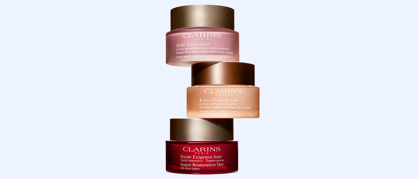 Clarins day moisturizers