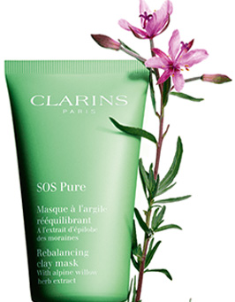 What ingredients are in SOS Pure Rebalancing Clay Mask?