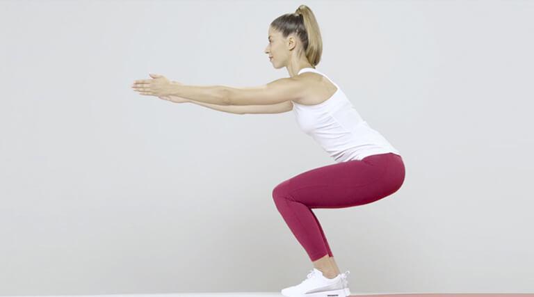 squat video