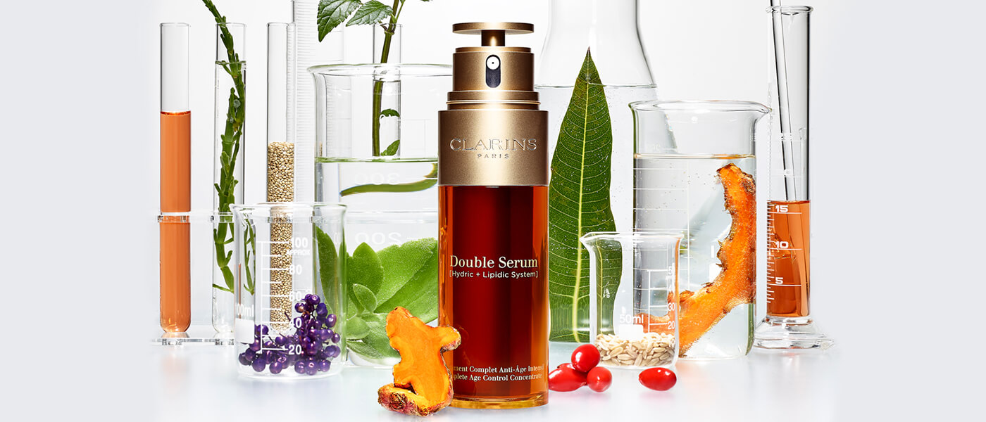 Clarins Double Serum plants