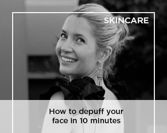 How to depuff your face in 10 minutes | Masterclass with Lauren Ettlinger and @courtneygrow