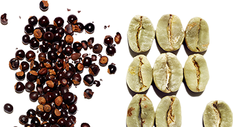 有机瓜拉纳精粹和植物咖啡因