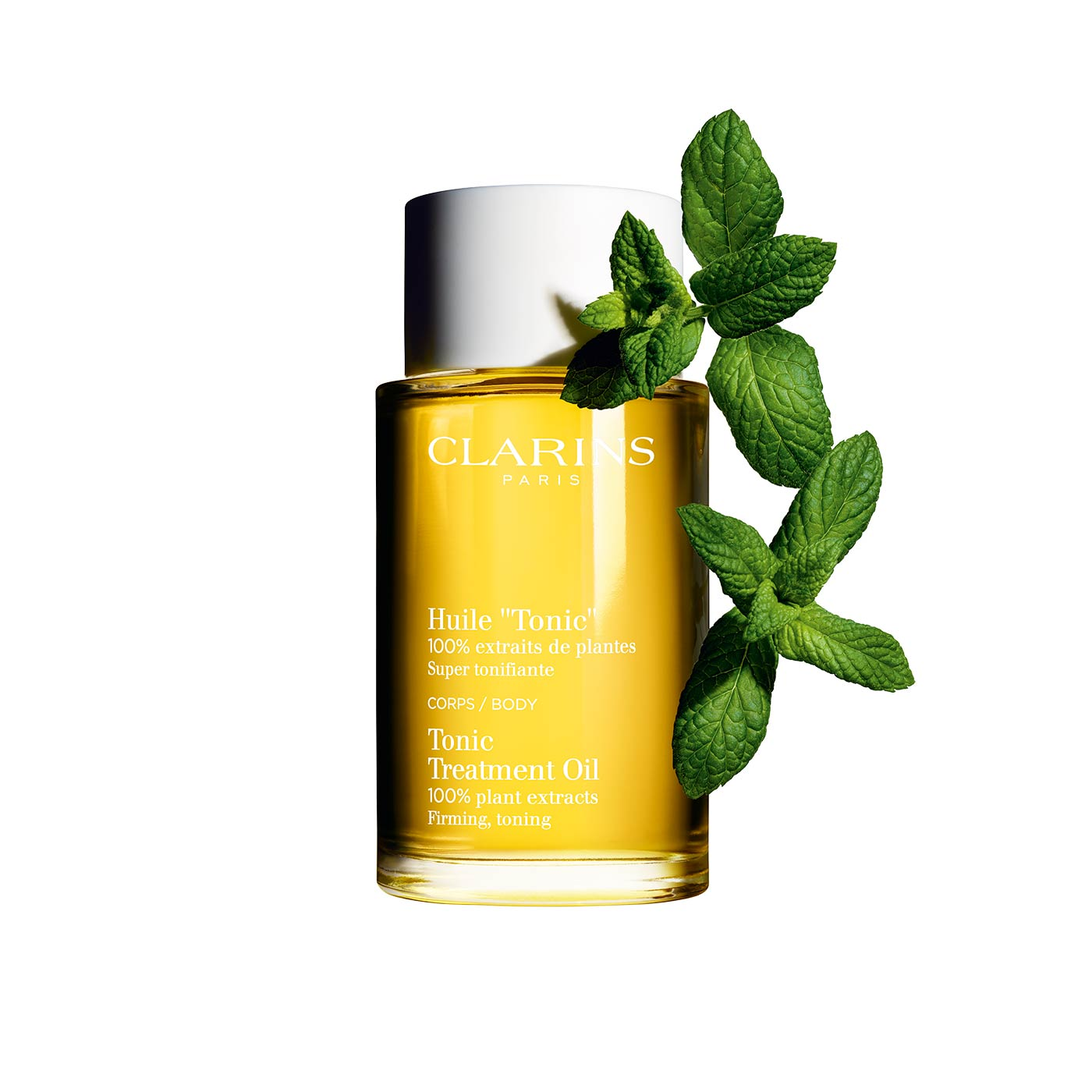 huile tonic clarins