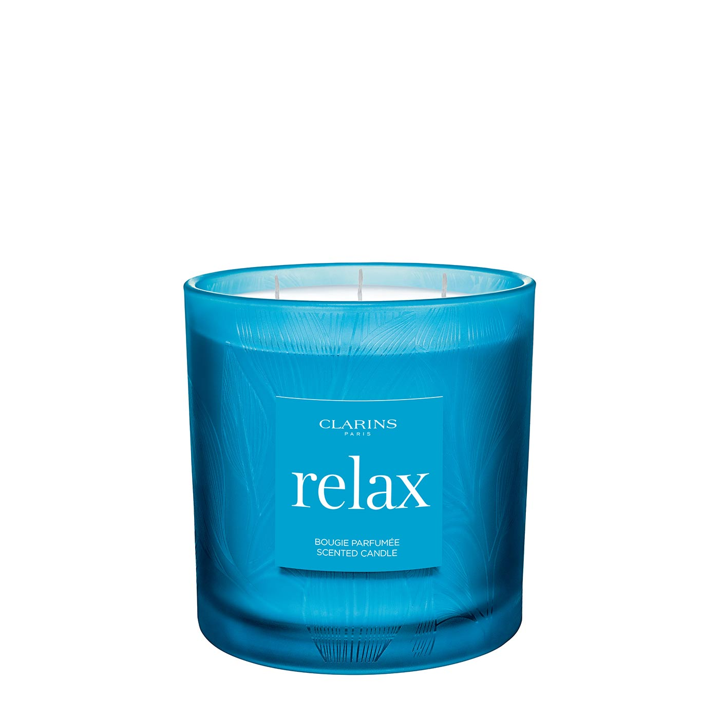 Relax Scented Candle Spa Treatment Scented Candle Clarins