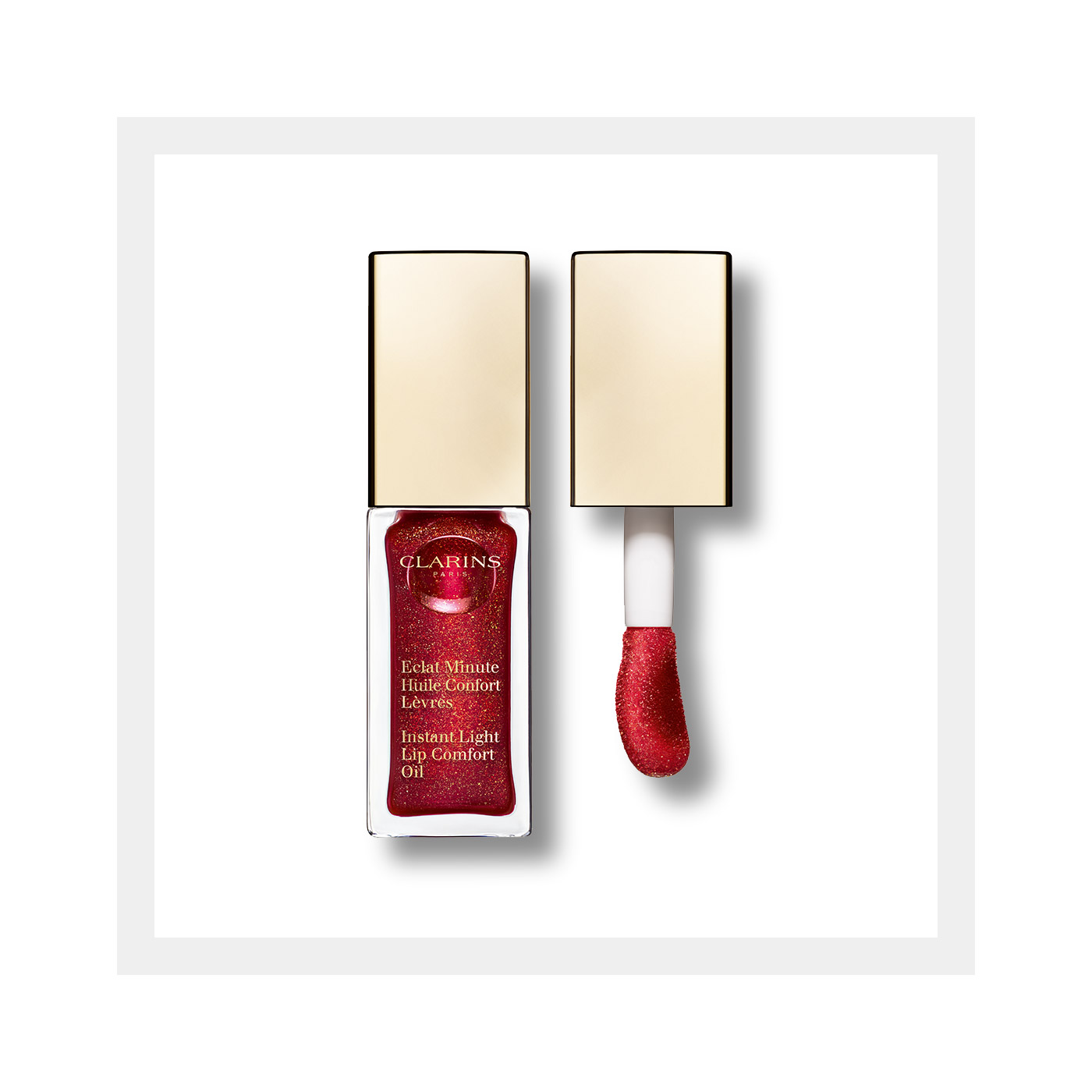 Instant Light Lip Comfort Oil Moisturizing Lip Oil Clarins