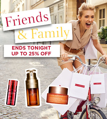 Friends & Family - Up to 25% off