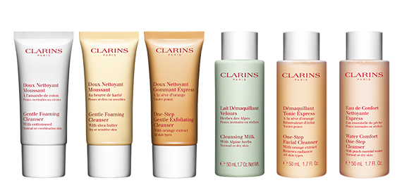 Your choice of cleanser